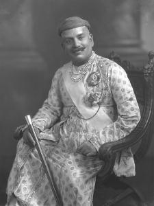 Shrimant Maharaja Sir Sayajirao III Gaekwad by James Lafayette