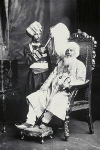Sir Babkhem Singh Bedor Bedi of Kullar by James Lafayette