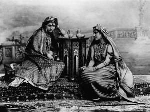 Two Daughters of Maharaja Duleep Singh by James Lafayette