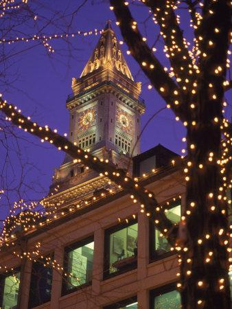 Quincy Market and Customs House Tower, Boston, MA