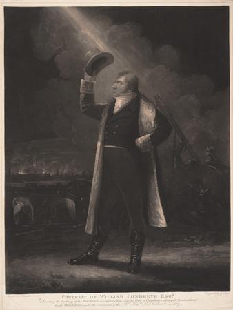 Portrait of William Congreve Esq., 1807