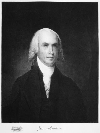James Madison, 4th President of the the United States of America, (1901)-Unknown-Giclee Print
