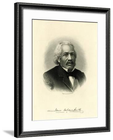 James Mccune Smith--Framed Giclee Print
