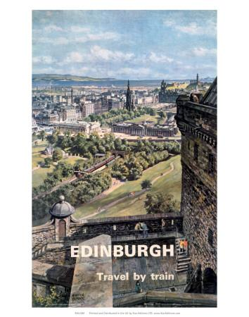 Edinburgh, BR, c.1955-1965