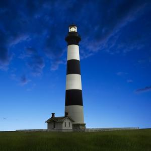 Lighthouse at Night III by James McLoughlin