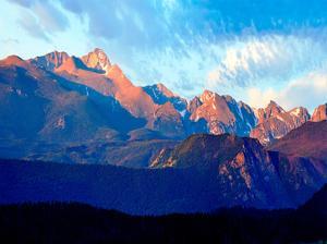 Mountainscape Photograph I by James McLoughlin