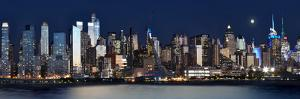 New York at Night XI by James McLoughlin