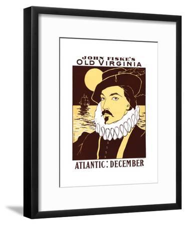 Atlantic: December. John Fiske's Old Virginia