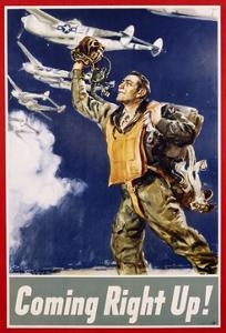 Coming Right Up! Poster by James Montgomery Flagg