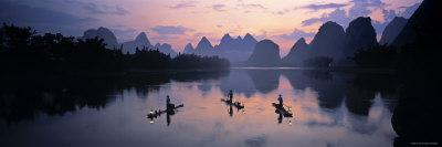 Cormorant Fishermen, Li River, Yangshuo, China