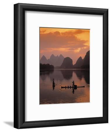Cormorant Fishermen, Li River, Yangshuo, Guangxi, China
