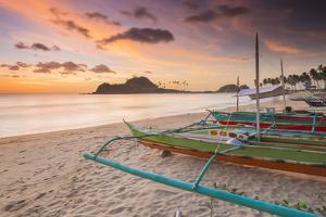 Nacpan Beach, El Nido, Palawan, Mimaropa, Philippines, Southeast Asia, Asia by James Montgomery Flagg