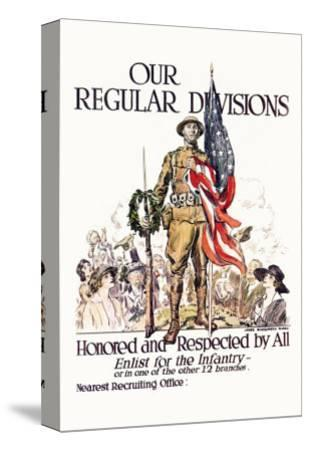 Our Regular Divisions, Enlist for the Infantry