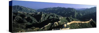 Panoramic View of Great Wall of China, Badaling, China