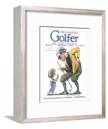 The American Golfer April 23, 1921