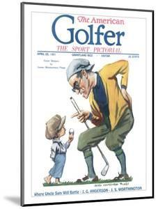 The American Golfer April 23, 1921 by James Montgomery Flagg