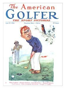 The American Golfer April 5, 1924 by James Montgomery Flagg