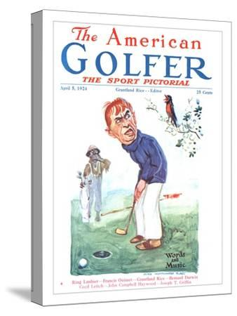 The American Golfer April 5, 1924