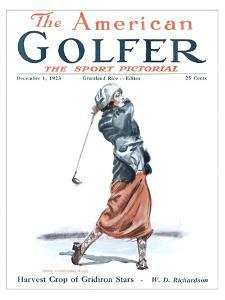 The American Golfer December 1, 1923 by James Montgomery Flagg