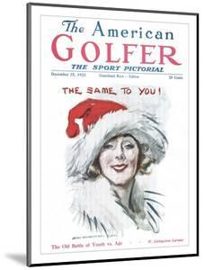 The American Golfer December 15, 1923 by James Montgomery Flagg