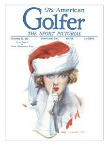The American Golfer December 17, 1921 by James Montgomery Flagg