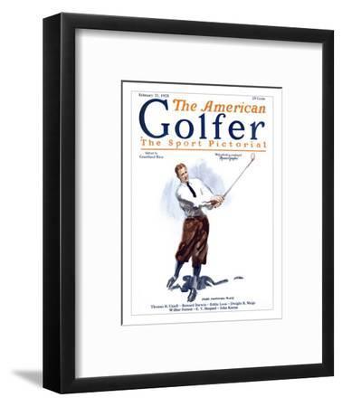 The American Golfer February 21, 1925