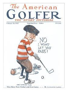 The American Golfer February 24, 1923 by James Montgomery Flagg