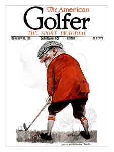 The American Golfer February 26, 1921 by James Montgomery Flagg