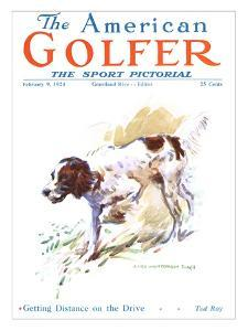 The American Golfer February 9, 1924 by James Montgomery Flagg