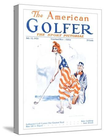 The American Golfer July 12, 1924