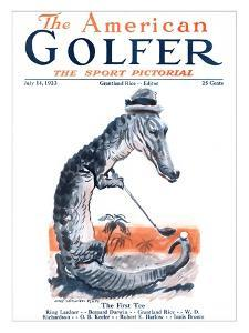The American Golfer July 14, 1923 by James Montgomery Flagg