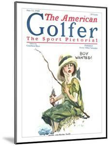 The American Golfer June 13, 1925 by James Montgomery Flagg