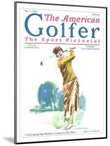 The American Golfer May 2, 1925 by James Montgomery Flagg