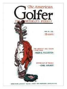 The American Golfer May 29, 1920 by James Montgomery Flagg
