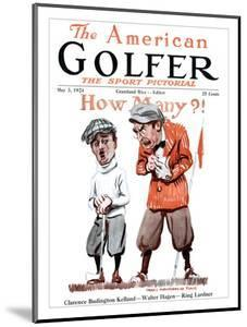 The American Golfer May 3, 1924 by James Montgomery Flagg