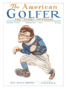 The American Golfer November 18, 1922 by James Montgomery Flagg