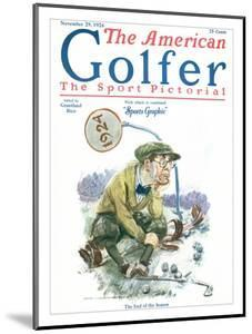 The American Golfer November 29, 1924 by James Montgomery Flagg