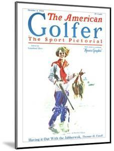 The American Golfer October 4, 1924 by James Montgomery Flagg