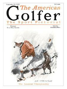The American Golfer September 19, 1925 by James Montgomery Flagg