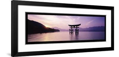 Torii, Itsukushima Shinto Shrine, Honshu, Japan