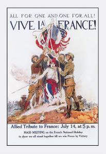 Vive La France! by James Montgomery Flagg