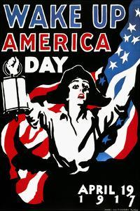 Wake Up America Day, 1917 by James Montgomery Flagg