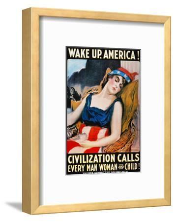 'Wake Up America' Poster