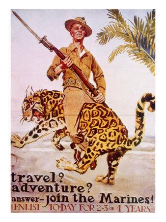 World War I American Recruiting Poster, 1918