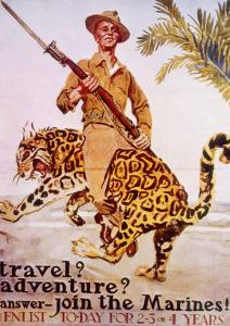 World War I American Recruiting Poster, 1918 by James Montgomery Flagg