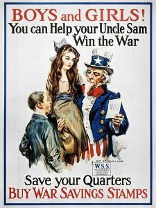 World War I: U.S. Poster by James Montgomery Flagg