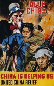 "WWII Poster: ""Help China"" by James Montgomery Flagg"