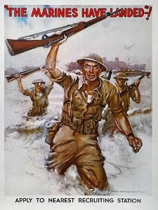 WWII Recruiting Poster by James Montgomery Flagg