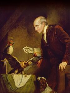 Self Portrait as a Falconer, 1823 by James Northcote