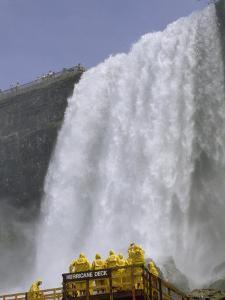 Bridal Veil Falls, Niagara Falls, New York by James P. Blair